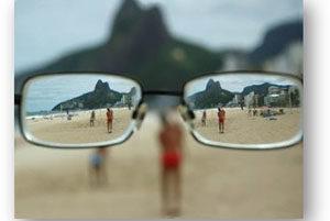 Gafas o lente de contacto para miopía