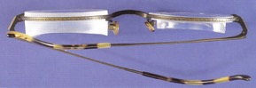gafas con distintas lentes