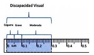Medición Discapacidad visual
