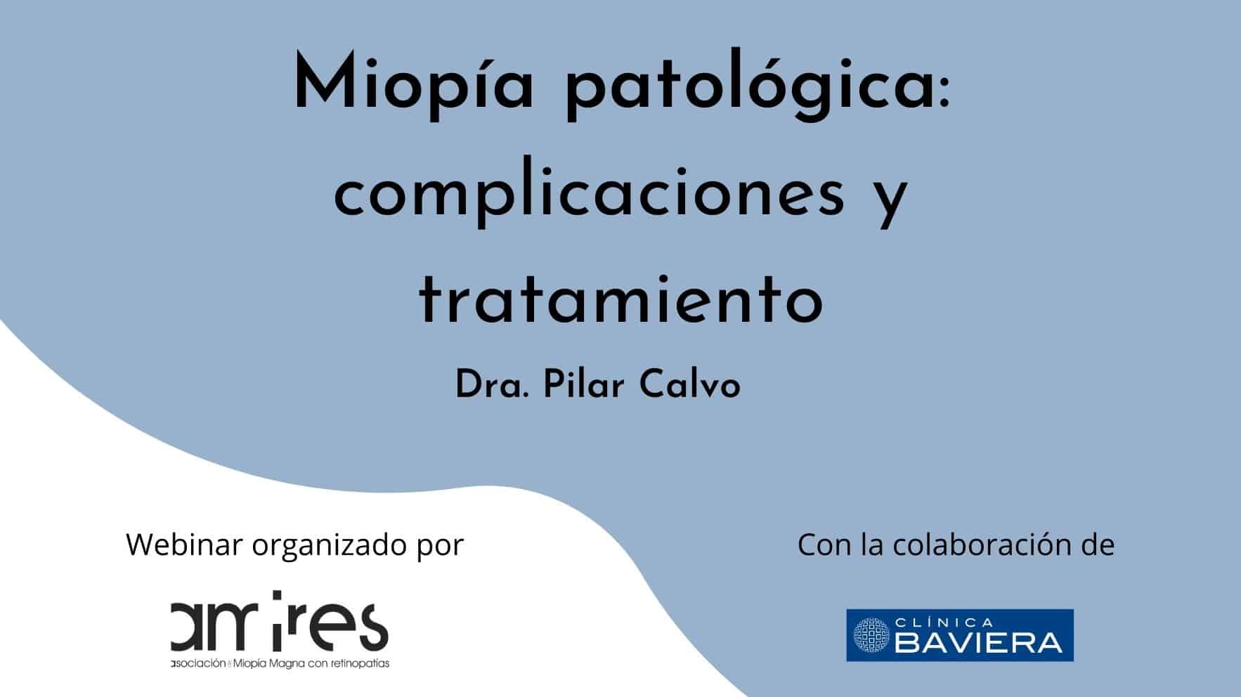 miopia patologica